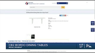 Recall Roundup: Brand ceiling fans and dining tables under recall