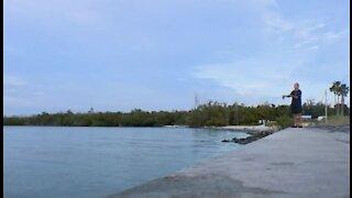 FDOT closes Jensen Beach causeway bridges to fishermen over trash and traffic concerns
