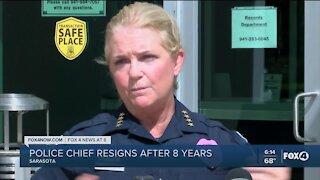 Sarasota Police Chief resigns