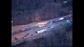 All lanes on I-71 southbound reopen after serious crash near the turnpike