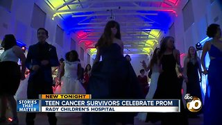 Rady Children's Hospital cancer survivors celebrate prom