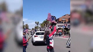 Protests in Huntington Beach