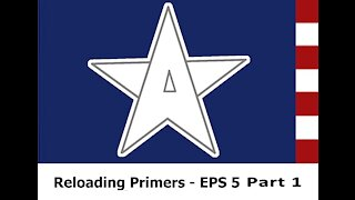 Homemade Primers: EPS 5 Part 2 Primers made with styphnic acid