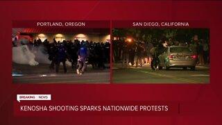 Jacob Blake: Kenosha police shooting sparks nationwide protests