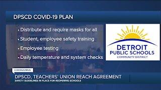 Detroit public schools, Detroit Federation of Teachers agree on back to school plan