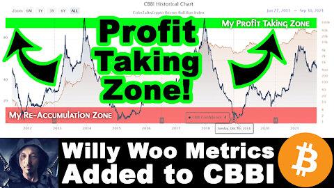 🔵 Bitcoin Bull Run Profit-Taking Strategy | $100k-$300k Price | Willy Woo Metric Added to CBBI