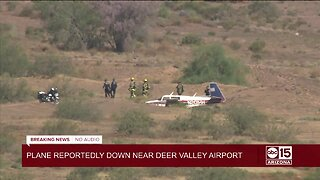 Plane reportedly down near Deer Valley Airport