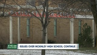 Issues over McKinley High School continue