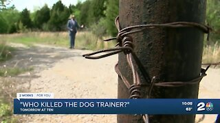 Who Killed the dog trainer