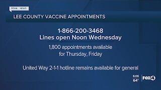 Local vaccine distribution updates