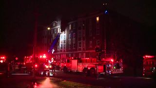 Families displaced after apartment fire on Detroit's west side