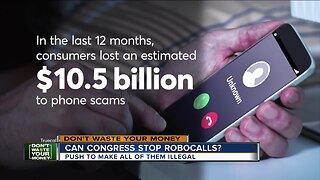 Can Congress make robocalls illegal?