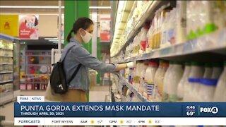 Punta Gorda extends mask mandate