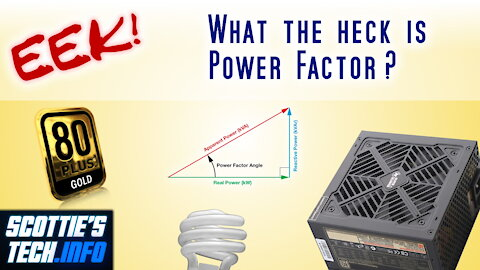 EEK! #4 - What the heck is Power Factor?