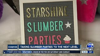 Local companies taking kids' slumber parties to the next level