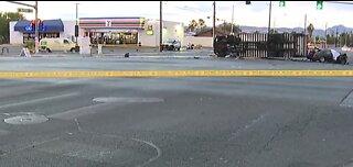 Multiple injuries in deadly east Las Vegas crash
