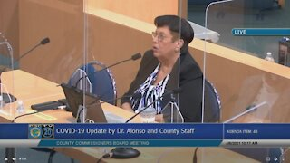 Palm Beach County health director talks spread of COVID-19 variants