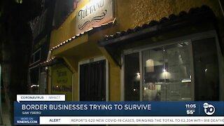 Border businesses already hurting prepare for purple tier