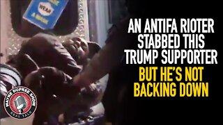 ANTIFA Member Stabs Black Trump Supporter