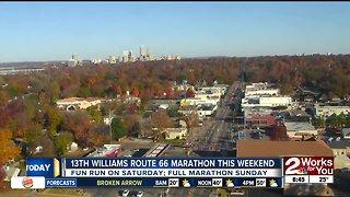 13th Williams Route 66 Marathon this weekend