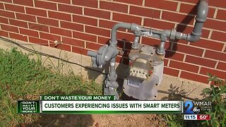 Customers experiencing issues with smart meters