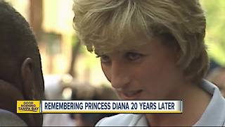 Remembering Princess Diana 20 years later