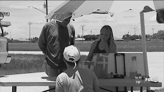 Kids start lemonade stand to help with dad's medical expenses