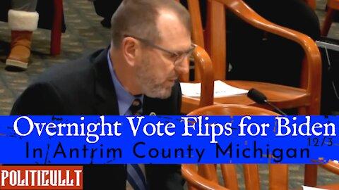 Voter Fraud Evidence - Overnight Vote Flips for Biden in Antrim County Michigan - Col Waldron 12/3