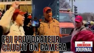 Fed Provocateur Caught On Camera Inciting Jan. 6 Capitol Breach