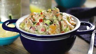 Creamy Shrimp Salad