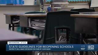 State guidelines released for reopening schools