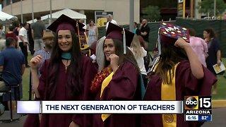 Thousands celebrate following Arizona State University graduation