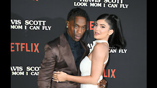Kylie Jenner and Travis Scott get cosy in intimate picture