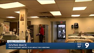 Salvation Army feeds community on Christmas Day despite COVID-19 pandemic