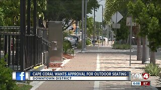 More outside seating possibly in the future for Cape Coral restaurants