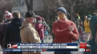 Inauguration safety measures