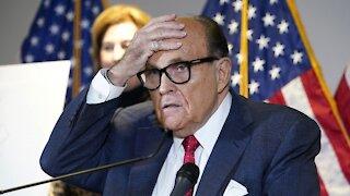 Investigators Search Rudy Giuliani's Home