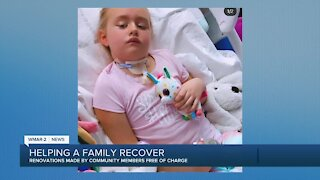 Helping a family recover