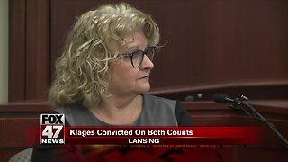 Kathie Klages found guilty