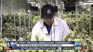 Harford County's first medical marijuana dispensary set to open