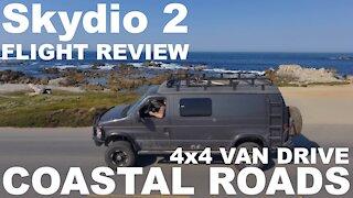 Skydio 2: Blue Bird! - 4x4 Van Drive - Coastal Roads (4K)