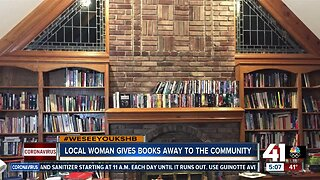 OP woman wants to give away books during COVID-19 pandemic