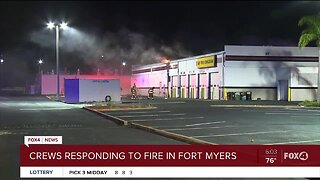 Fire at Fort Myers business
