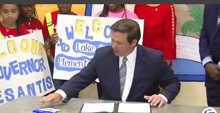 Governor DeSantis makes education announcement