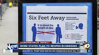 More states plan to reopen businesses
