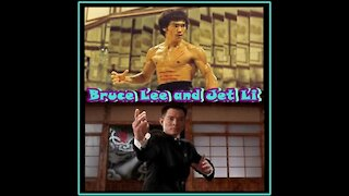 THE BEST SCENES OF FIGHTS WITH JET LI AND BRUCE LEE