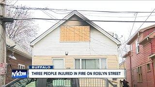 Three injured following Saturday morning house fire in Buffalo