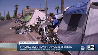 Valley advocates working to help those living on the streets