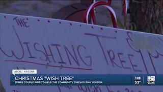 Tempe couple starts Christmas 'wish tree'