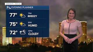 2 News Meteorologist with your Sunday afternoon forecast